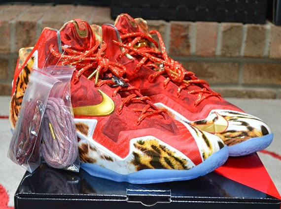quality design ef730 79f7d So just how much are people trying to charge for their Nike LeBron 11 2K14  pairs  See the rest of the photos for the shoes, which are being shipped to  those ...