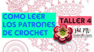 Cómo LEER PATRONES CROCHET ✅ Taller 4