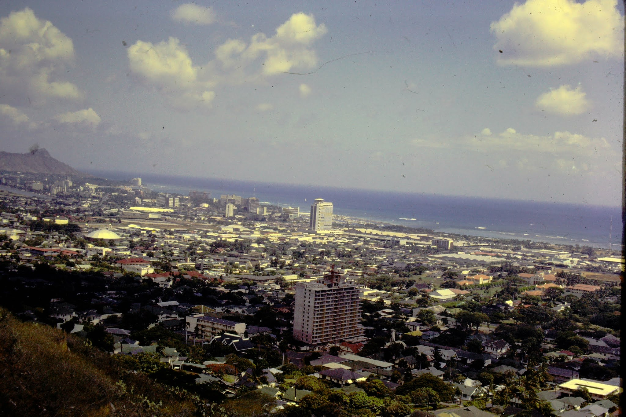 View of Honolulu - 1961
