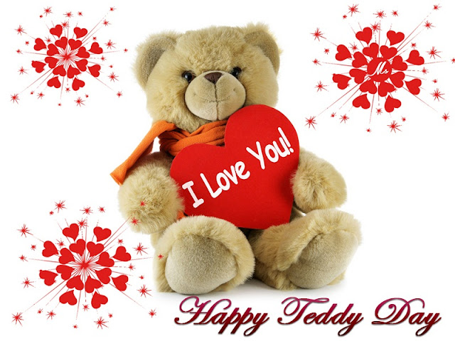happy teddy day 2018 sms, teddy day sms images, teddy bear day sms