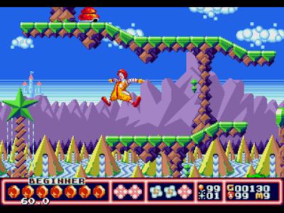 【MD】麥當勞叔叔的黃金島冒險原版+生命不減Hack版,McDonald.s.Treasure.Land.Adventure!