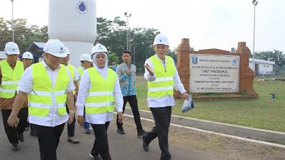 Pemprov Jatim Targetkan Distribusi Air  SPAM Umbulan Mulai Beroperasi Desember 2019 Ini