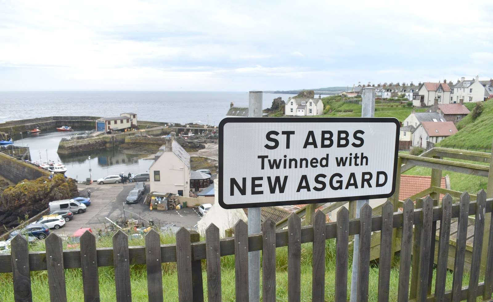 Avengers Filming Location in Scotland - Exploring St Abbs and New Asgard