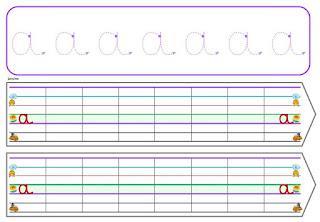 ardoises pour apprendre la graphie, le tracer des lettres cursives