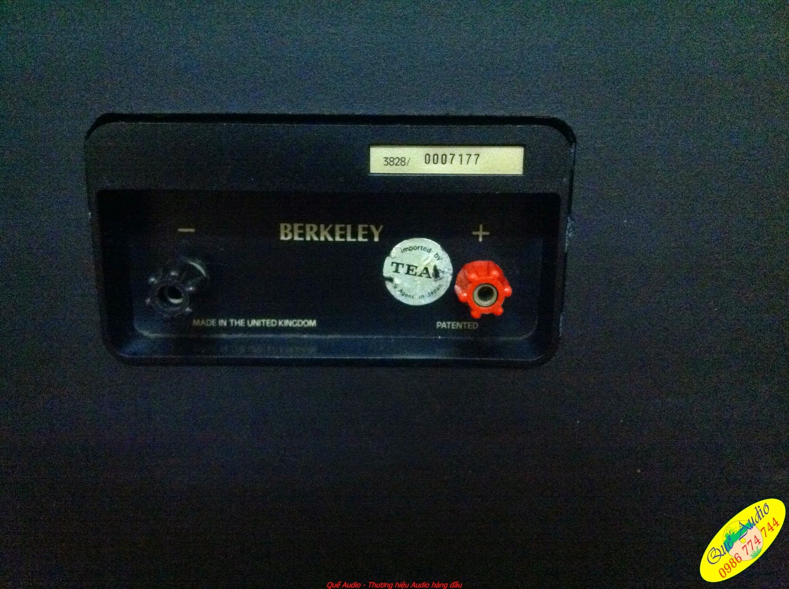 Cận cảnh cầu loa Tannoy Berkeley