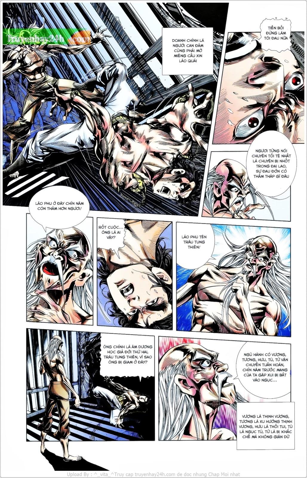 Tần Vương Doanh Chính chapter 25 trang 4
