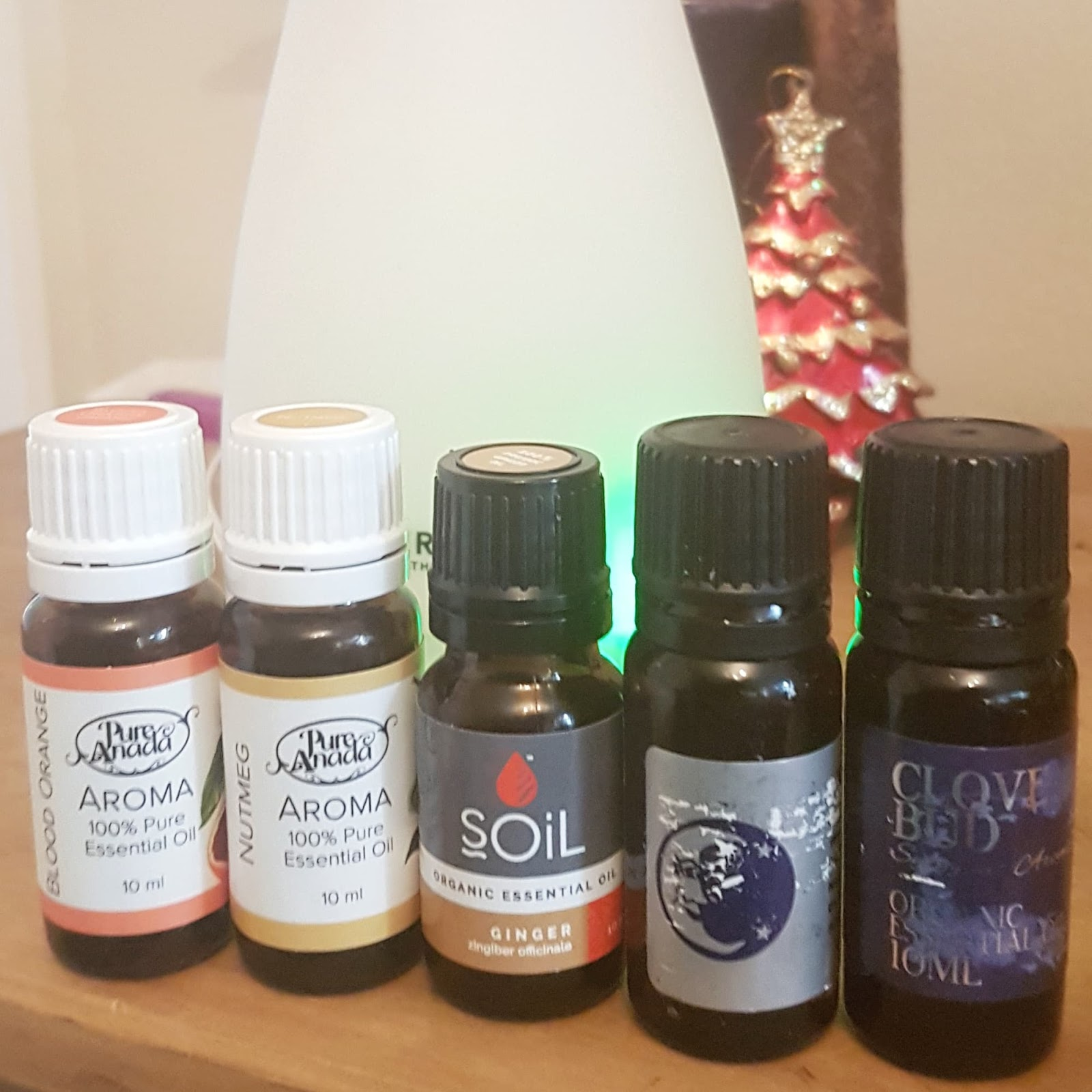 Christmas Essential Oil Blends + Holiday DIY Recipes