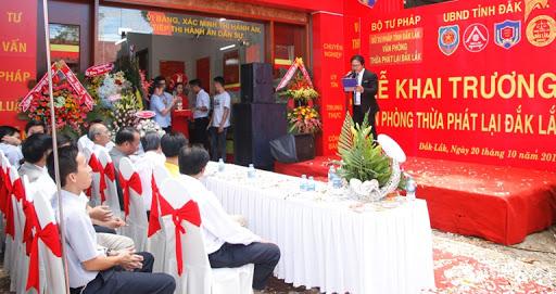 Thành lập 3 văn phòng thừa phát lại đầu tiên ở Quảng Nam
