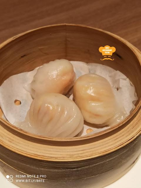 Dim Sum Menu - Steamed Crystal Prawn Dumpling 陸羽鮮蝦餃