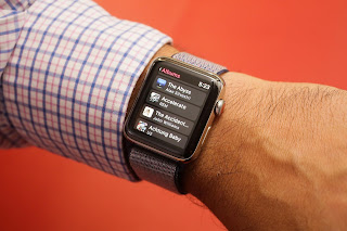 Music streaming arrives with watchOS 4.1 wireless Apple Watch