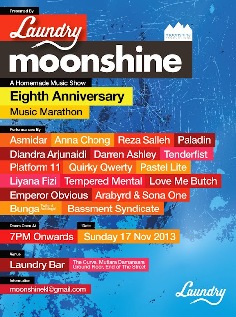 Moonshine 8th Anniversary Music Marathon
