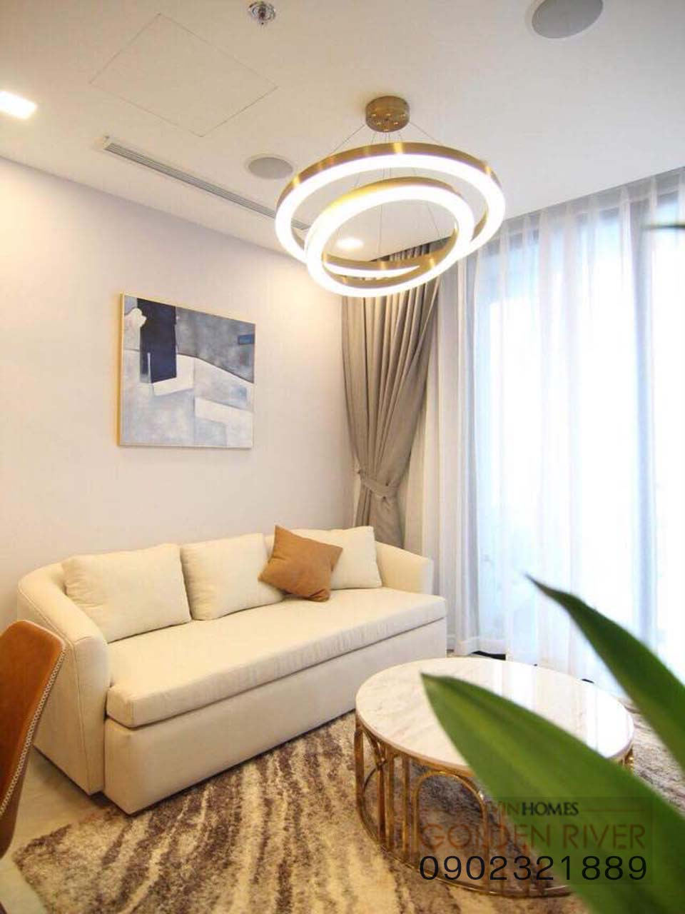 Vinhome Ba Son cho thuê căn hộ 51m2 nội thất cực đẹp - hình 5