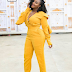 Actress, Ini Edo steps out in Kiki Jumpsuit...