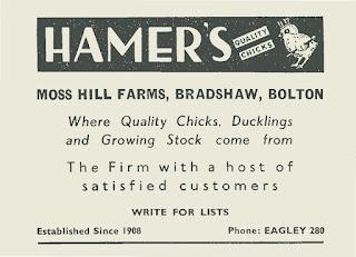 Hamer's, Moss Hill Farm, Bradshaw
