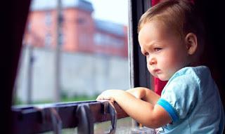 Поездка на поезде с детьми