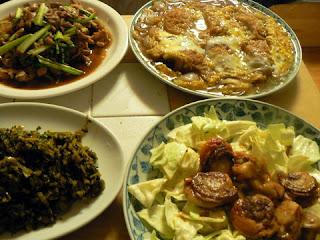 コロッケ煮セット 高菜炒め 豚バラかぶ炒め ホタテバター焼き