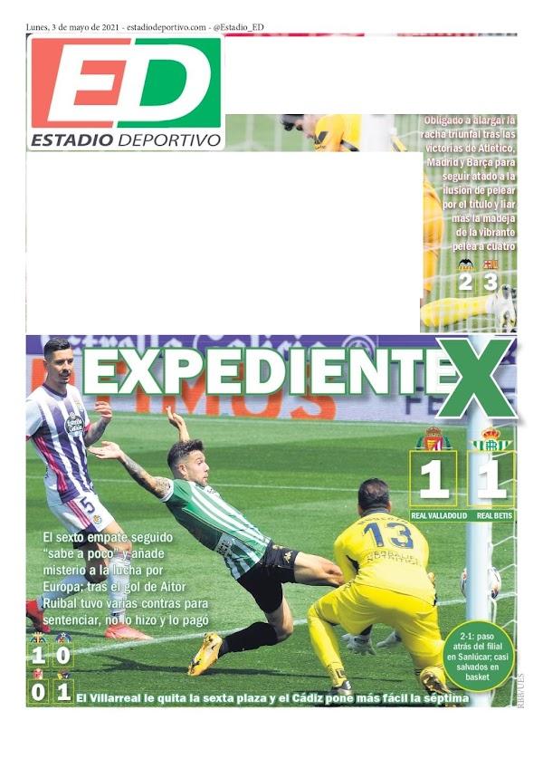 """Betis, Estadio Deportivo: """"Expediente X"""""""