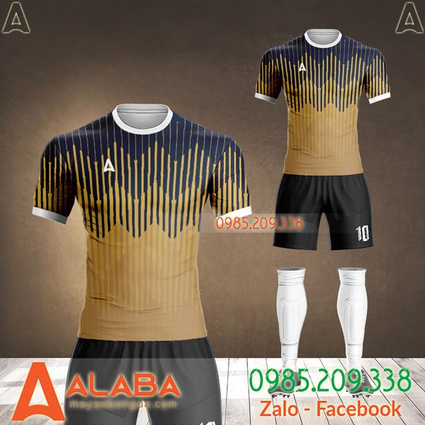 mẫu áo bóng đá không logo đẹp 2020