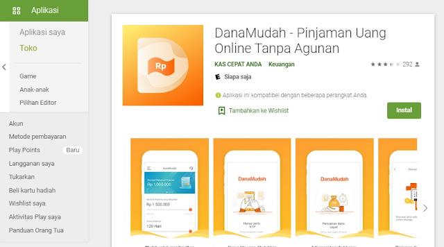 Danamudah pinjaman online