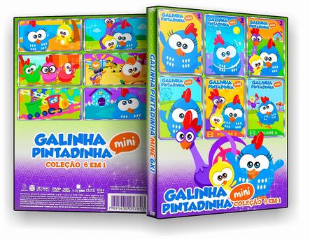 DVD COLEÇÃO GALINHA PINTADINHA MINI 6X1 - ISO
