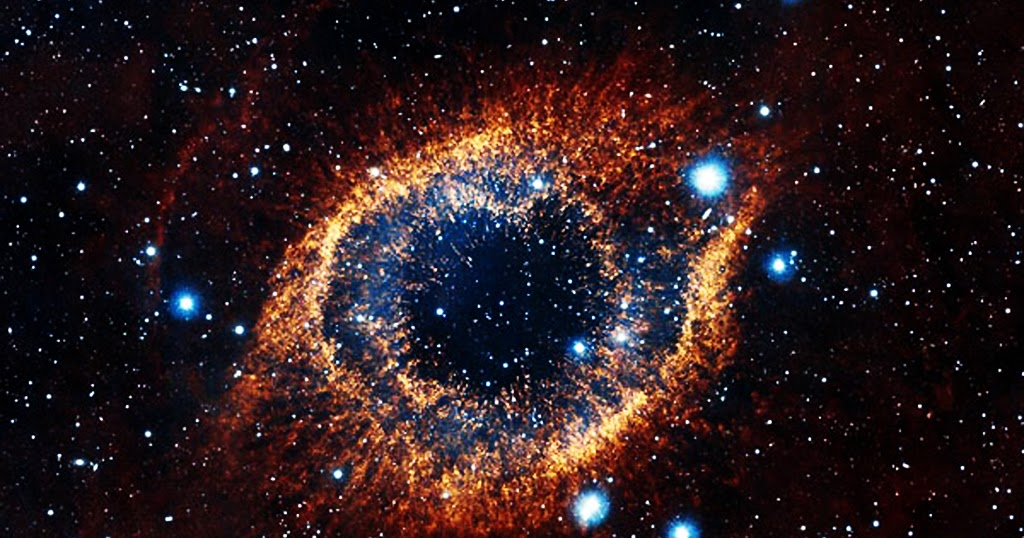 Infrared Visible Light Comparison View Of The Helix Nebula: Discovering Something New : The Intricate Structure Of The