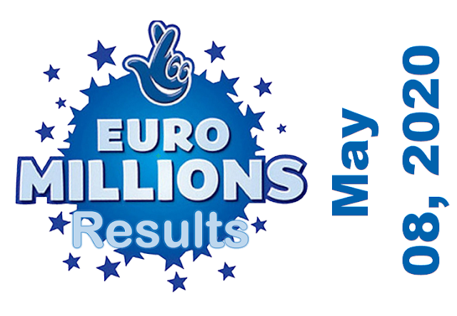 EuroMillions Results for Friday, May 08, 2020