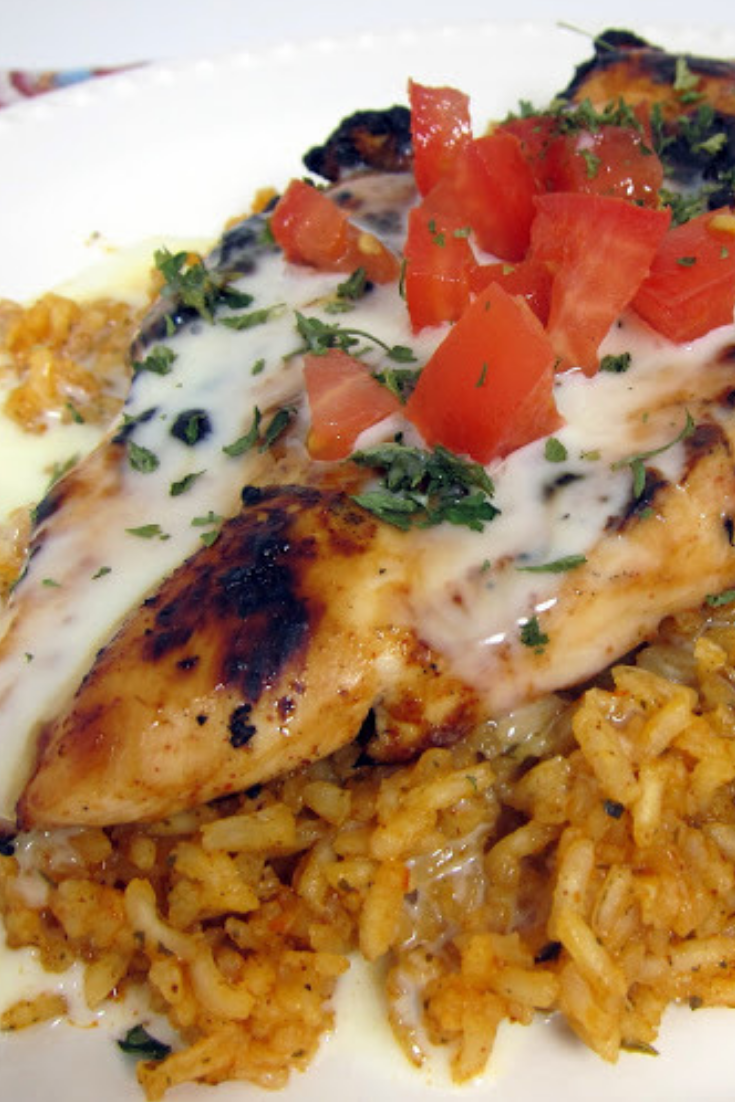 Pollo Loco Grilled Chicken Mexican Rice