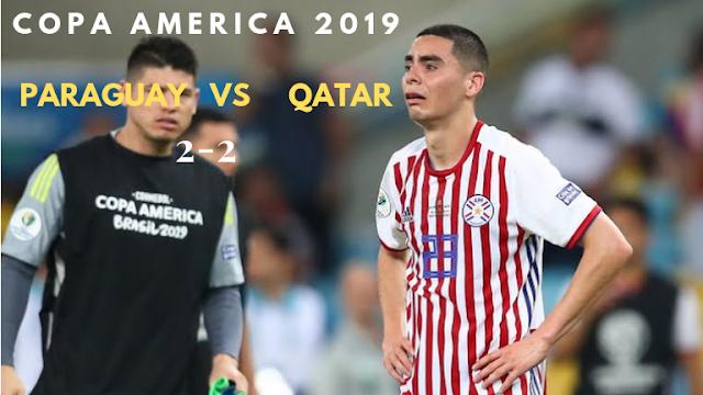 Paraguay vs Qatar -Copa America 2019