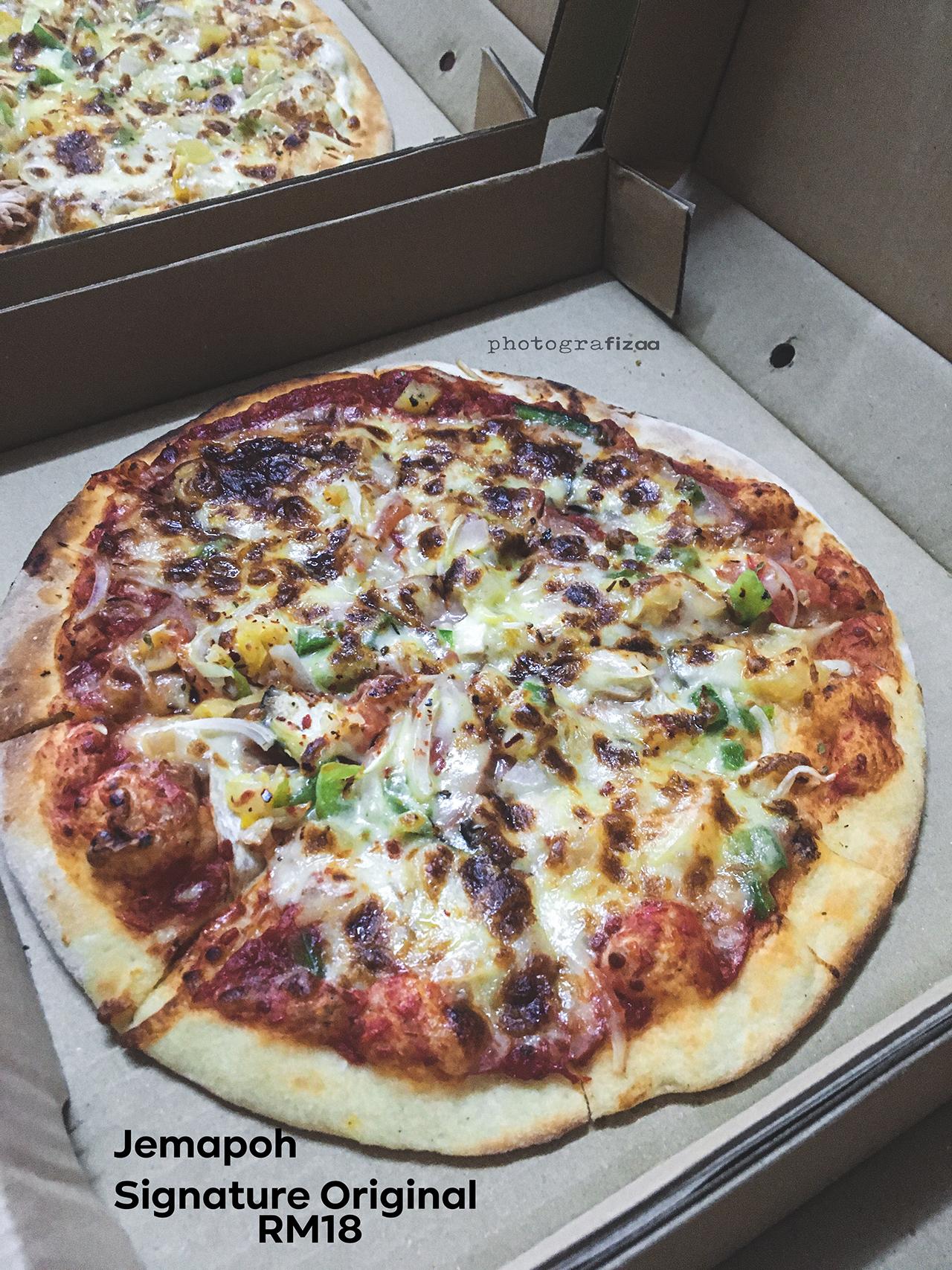 Jemapoh Pizza Kayu Api, Pizza Kampung Citoghaso International