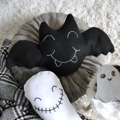 DIY Coussins Halloween Trop Mignons