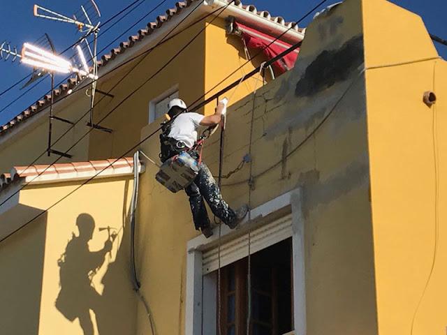 Rehabilitación de fachadas de viviendas en Nerja