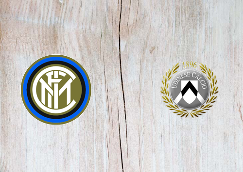 Internazionale vs Udinese -Highlights 14 September 2019