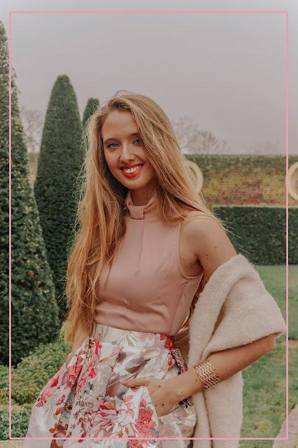 Closet London Gold Floral Dress review