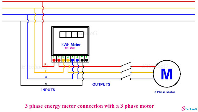 3 phase energy meter connection, 3 phase ct meter wiring diagrams, 3 phase energy meter connection with ct,ct operated energy meter connection diagram