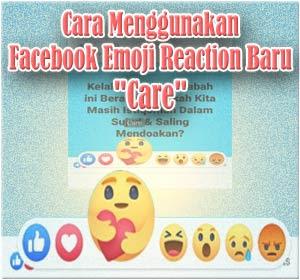 """Begini Cara Menggunakan Emoji Reaction Facebook """"Care"""""""