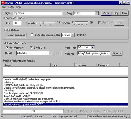 Cybertwist: brutus password cracker for windows free download.