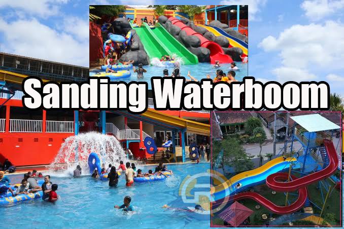 Wisata Air Kolam Renang Sanding Waterboom Majalaya