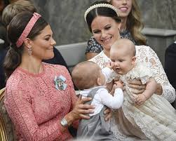 Sweden's Prince Alexander gets christened Images Videos Gorgeous Royal
