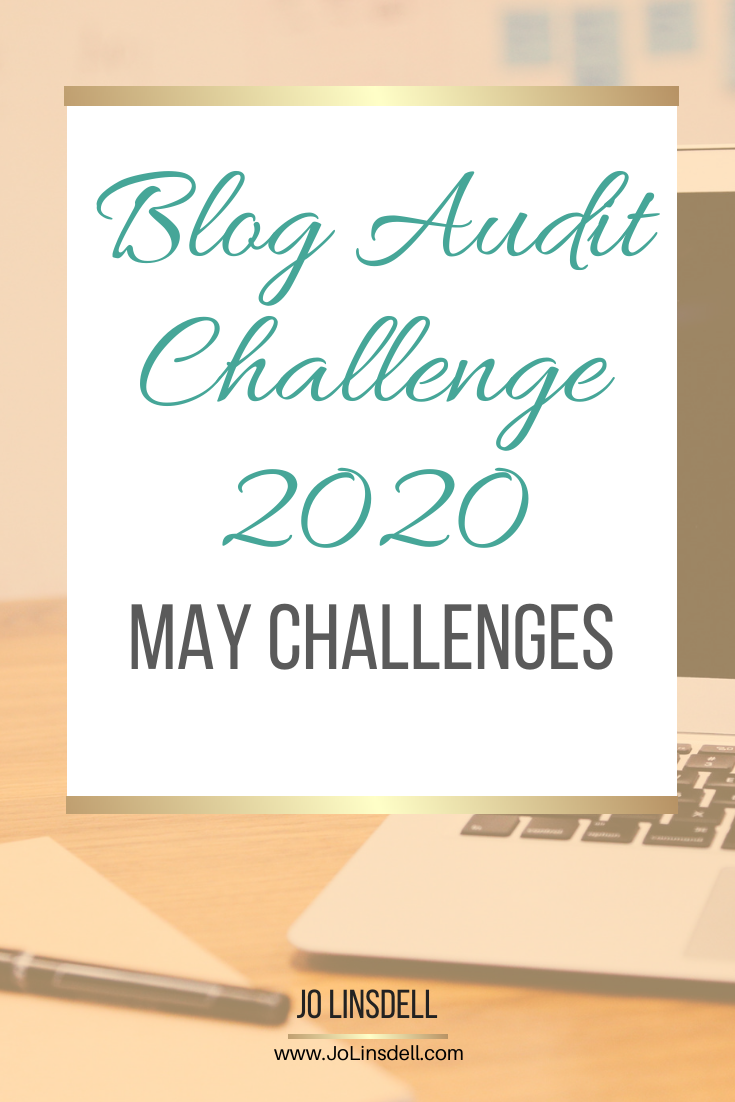 Blog Audit Challenge 2020: May Challenges #BlogAuditChallenge2020