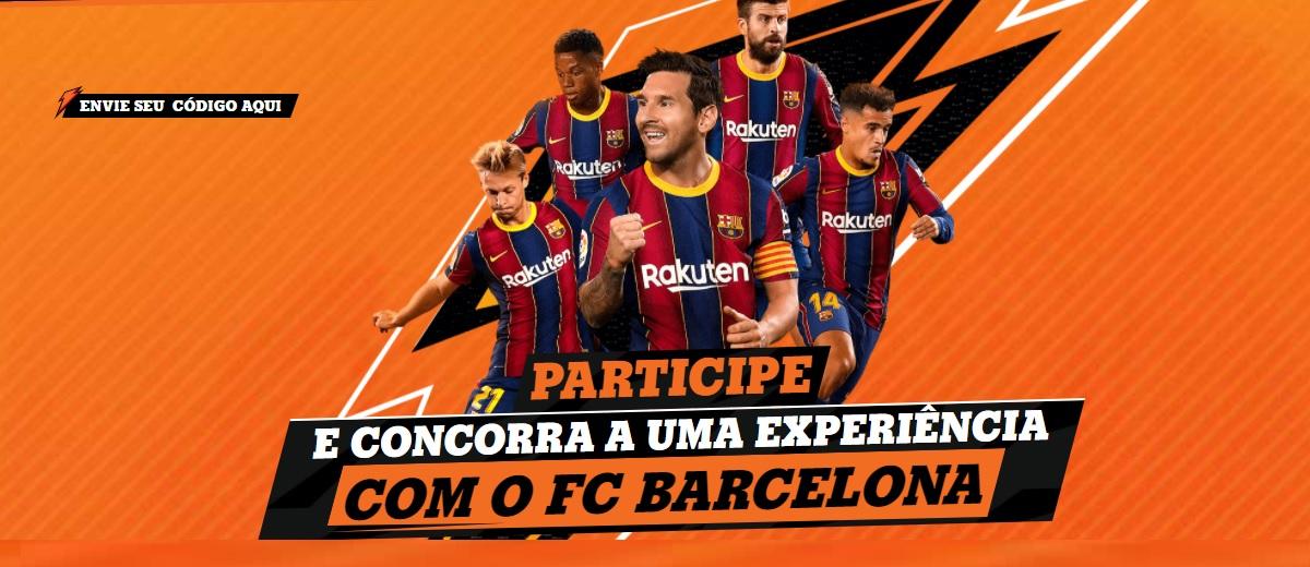 Participar Promoção Gatorade 2021 Barcelona Viagem Experiência Prêmios Todo Dia - Whatsapp