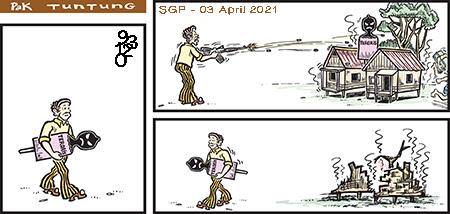 Prediksi Syair Pak Tuntung SGP sabtu 03 April 2021