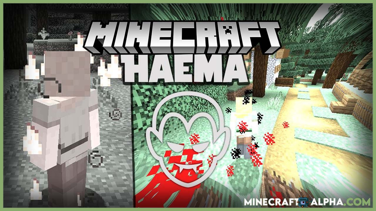 Minecraft Haema Mod 1.17.1 (Vampire, Abilities)