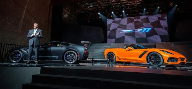 El nuevo Corvette ZR1; el primero convertible desde 1970