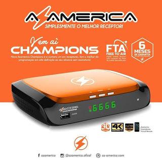 AZAMERICA CHAMPIONS NOVA ATUALIZAÇÃO V1.57