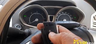 xhorse key tool plus Ford Ecosport 2017 id83 key 13