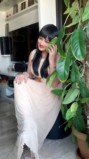 Actress RamyaSri Latest Georgious Exclusive Pictureshoot Gallery in Long Dress 0011