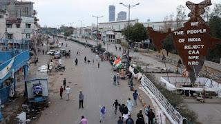 kalindi-kunj-noida-road-starts