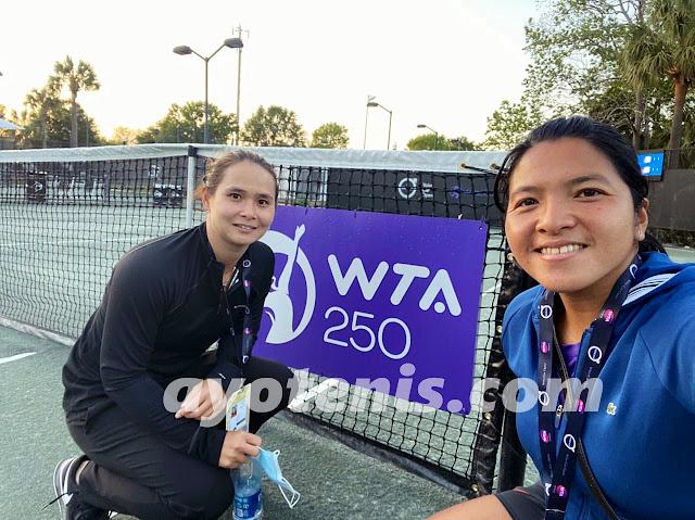 Tumbangkan Unggulan 2, Bea/Eci Melesat ke Perempatfinal WTA MUSC Health Women's Open, Charleston 2021