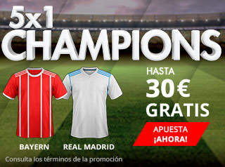 suertia promocion champions league Bayern vs Real Madrid 25 abril