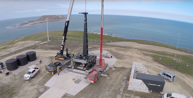 Launch Complex 1 on New Zealand's Mahia Peninsula. Photo Credit: Rocket Lab